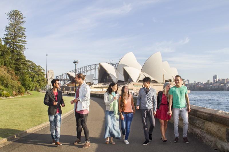 悉尼, 留学生, 工作, 女生, 兼职